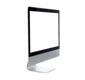 New monitor computer display side Stock Image