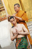 New monk Royalty Free Stock Photo
