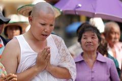 New monk ceremony Royalty Free Stock Photos