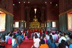 New Monk, Monks ordination ceremony -religious Stock Images