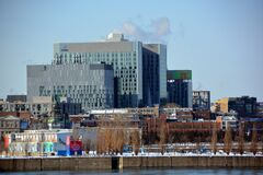 Free New Montreal`s CHUM, Or Universite De Montreal`s Hospital Royalty Free Stock Photography - 171362307