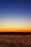 New moon sunset Stock Images