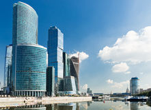 New Moscow City buildings Stock Photography