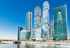 New Moscow City buildings Royalty Free Stock Photos