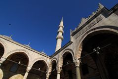 New Mosque. Details of New Mosque in Istanbul Royalty Free Stock Images