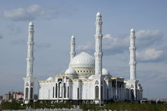 New mosque in Astana Royalty Free Stock Photo