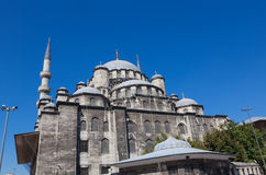 New Mosque in the centre of Istanbul turkey Stock Photography