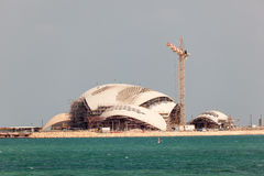 New Mosque Construction in Doha, Qatar Royalty Free Stock Photo