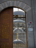 New Mosque doors Royalty Free Stock Photo