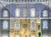 New mosque in Fatih, Istanbul Royalty Free Stock Image