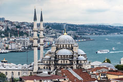 New Mosque in Instanbul. The New Mosque, originally known as the Valide Sutan Mosque, was built between 1660 and 1665 Royalty Free Stock Photos