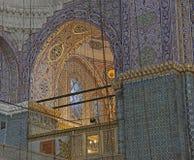 New Mosque Interior Stock Photo