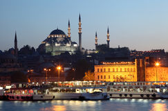 The New Mosque in Istanbul Royalty Free Stock Photos