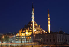 The New Mosque in Istanbul Stock Photos