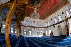 New mosque in Istanbul Royalty Free Stock Photography