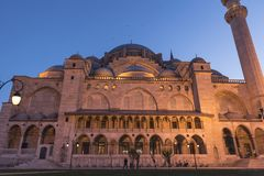 The new mosque is Istanbul stock images