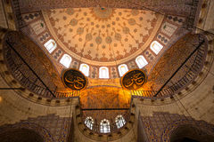 The new Mosque - Istanbul Royalty Free Stock Images
