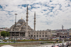 New Mosque Istanbul. The New Mosque with its two minarets in Istanbul, Turkey Stock Photography