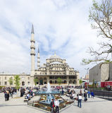 New mosque in istanbul Stock Image