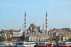 New Mosque, Istanbul, Turkey Royalty Free Stock Image