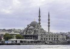 New mosque. The New mosque, Istanbul, Turkey Royalty Free Stock Photos