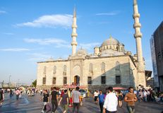 New Mosque , Istanbul, Turkey Royalty Free Stock Images