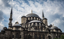 New Mosque in Istanbul Turkey Royalty Free Stock Photos