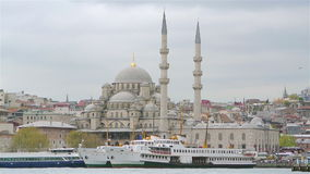 New Mosque in Istanbul Turkey Royalty Free Stock Photography