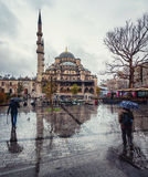 New Mosque in Istanbul, Turkey Stock Image