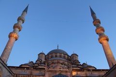 New Mosque in Istanbul Turkey. Royalty Free Stock Images