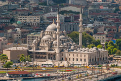 New Mosque in Istanbul Turkey Royalty Free Stock Photo