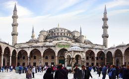 New Mosque in Istanbul. Royalty Free Stock Photos