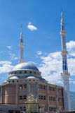 New Mosque in Macedonia. New Mosque been build between Kafastan and Struga in Macedonia Royalty Free Stock Photography