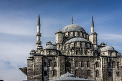 New Mosque. A shot of the New Mosque in Istanbul, Turkey Royalty Free Stock Photos
