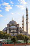 New Mosque (Yeni Cami) with cloudy sky,Istanbul,Turkey. Stock Photo