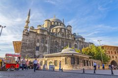 New Mosque (Yeni Cami) corner Royalty Free Stock Photo