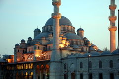 New Mosque Yeni Cami in Istanbul Stock Photo