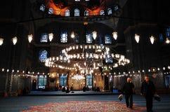 New Mosque, Yeni Cami, Istanbul. New Mosque Yeni Cami - pronounced Yeni jami, Istanbul, TURKEY October, 2014 Royalty Free Stock Photos