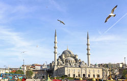 New Mosque (Yeni Cami) in Istanbul Royalty Free Stock Photography