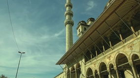 New Mosque Yeni Cami stock footage