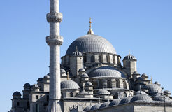 The New Mosque  (Yeni Camii) - RAW format Stock Images