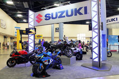 New motorcycles Stock Images