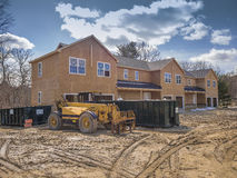 New multi family construction Royalty Free Stock Photography
