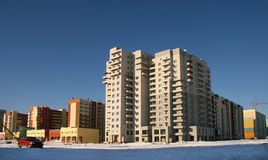 New multi-storey buildings. Stock Image