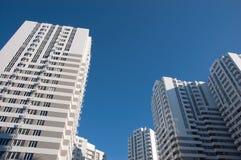 New multi-storey buildings Stock Photos