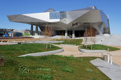 New Musee des Confluences Royalty Free Stock Photography