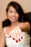 New Nails Royalty Free Stock Image