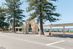 The New Napier Arch and Colonnades Napier New Zealand Stock Photo