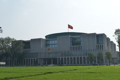 The new National Assembly Building in Hanoi, Vietnam Royalty Free Stock Photography