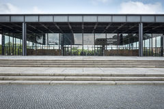 New National Gallery in Berlin Royalty Free Stock Photography